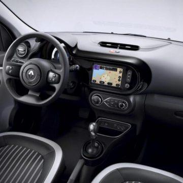 Neuvorstellung: Renault Twingo Z.E. | Innenleben in der Farbe Schwarz