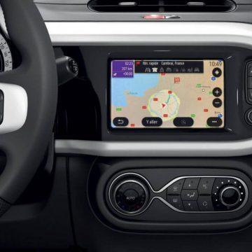 Neuvorstellung: Renault Twingo Z.E. | Display des Navigationssystems