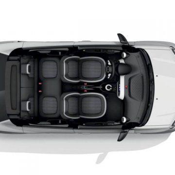 Neuvorstellung: Renault Twingo Z.E. | Innenansicht von oben