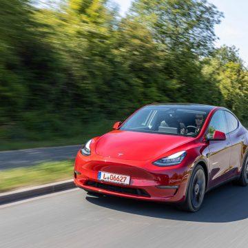 Tesla Model Y Performance   Frontansicht