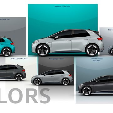 VW ID.3 1ST Edition | Farben