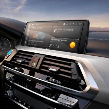 BMW iX3   Infotainment