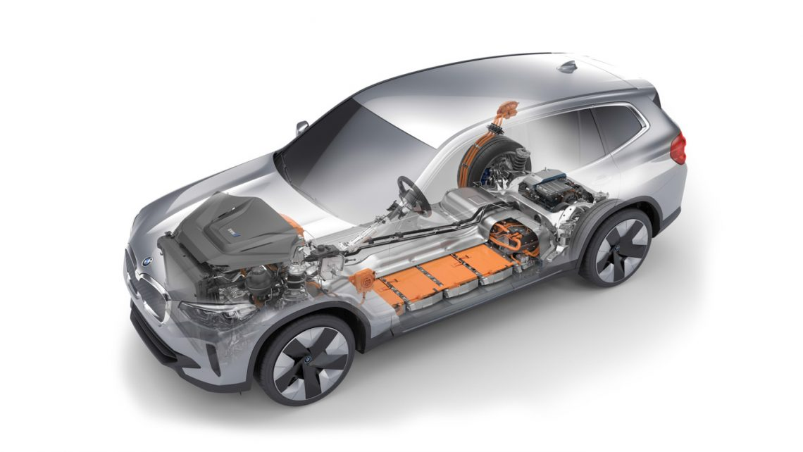 BMW iX3   HV-Batterie