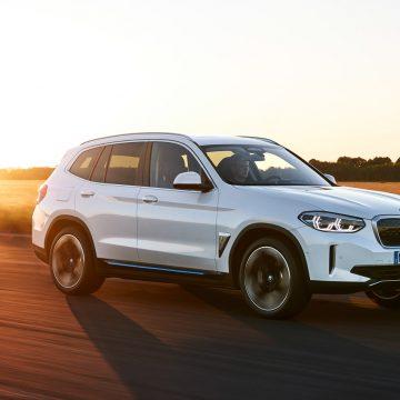 BMW iX3   Elektroautomobil