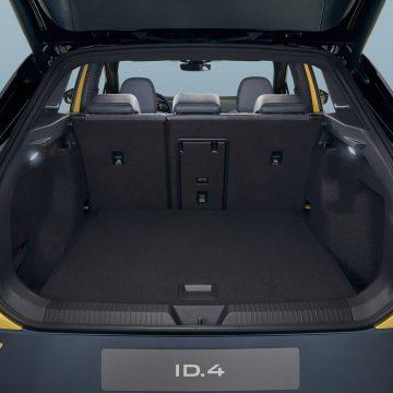 Der Kofferraum fasst 543 Liter.