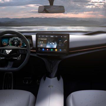 Cupra Tavascan Concept   Cockpit